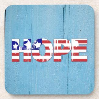 Porta copos da esperança da bandeira americana