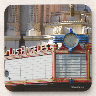 Porta copos da foto do famoso do teatro do estado