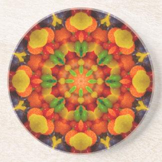 Porta copos da gota da goma da fruta