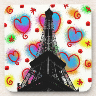 Porta copos da torre Eiffel