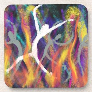 Porta Copos Dança no design cristão da arte moderna da