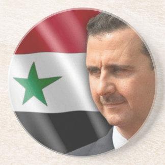 Porta-copos De Arenito بشارالاسد de Bashar al-Assad
