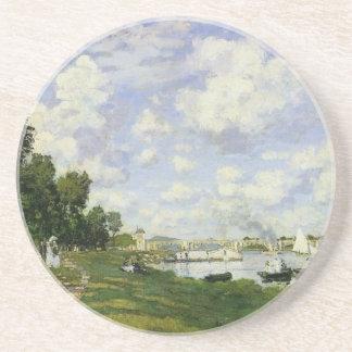 Porta-copos De Arenito A bacia em Argenteuil - Claude Monet