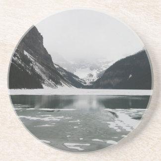 Porta-copos De Arenito A extremidade do inverno, Lake Louise
