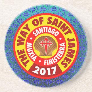 Porta-copos De Arenito A maneira de St James 2017