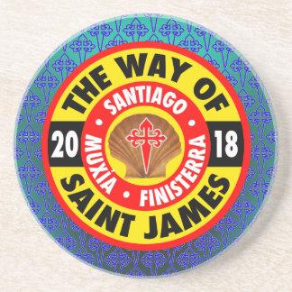 Porta-copos De Arenito A maneira de St James 2018