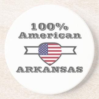 Porta-copos De Arenito Americano de 100%, Arkansas