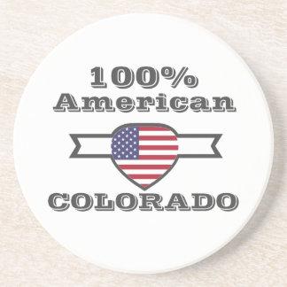Porta-copos De Arenito Americano de 100%, Colorado