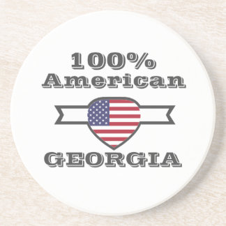 Porta-copos De Arenito Americano de 100%, Geórgia