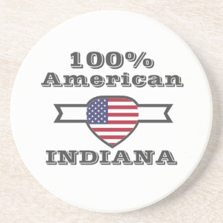 Porta-copos De Arenito Americano de 100%, Indiana