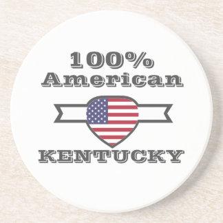Porta-copos De Arenito Americano de 100%, Kentucky