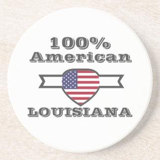 Porta-copos De Arenito Americano de 100%, Louisiana