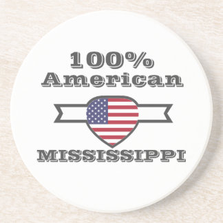 Porta-copos De Arenito Americano de 100%, Mississippi