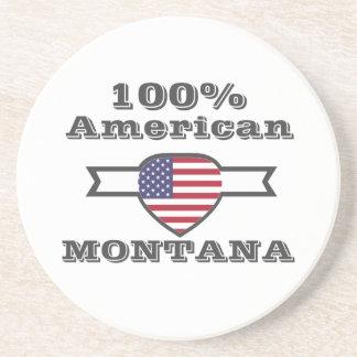 Porta-copos De Arenito Americano de 100%, Montana