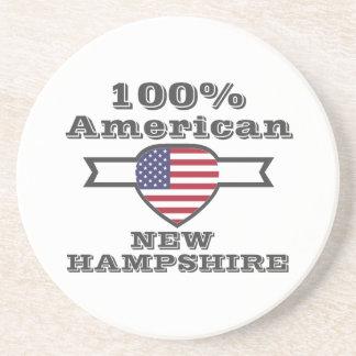 Porta-copos De Arenito Americano de 100%, New Hampshire
