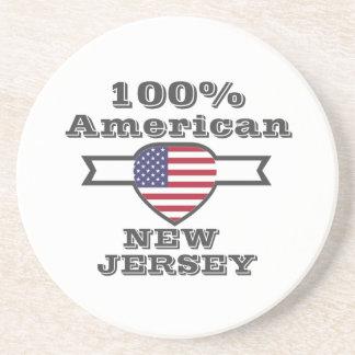 Porta-copos De Arenito Americano de 100%, New-jersey