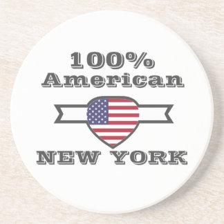 Porta-copos De Arenito Americano de 100%, New York