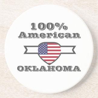 Porta-copos De Arenito Americano de 100%, Oklahoma