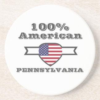Porta-copos De Arenito Americano de 100%, Pensilvânia