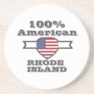 Porta-copos De Arenito Americano de 100%, Rhode - ilha