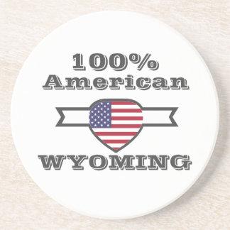 Porta-copos De Arenito Americano de 100%, Wyoming
