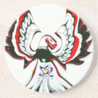 Porta-copos De Arenito Anishinaabe Thunderbird