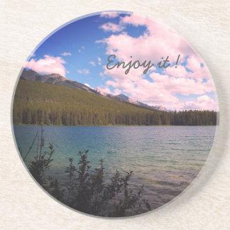 Porta-copos De Arenito Aprecie-o Banff