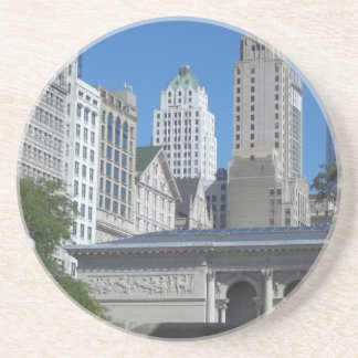 Porta-copos De Arenito Arquitectura da cidade de Chicago
