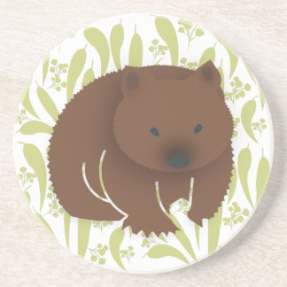 Porta-copos De Arenito Australiano Wombat