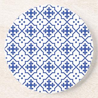 Porta-copos De Arenito Azul marroquino