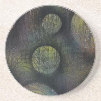 Porta-copos De Arenito Bactérias enredadas