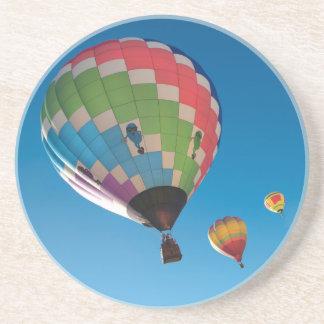 Porta-copos De Arenito Balões de ar quente