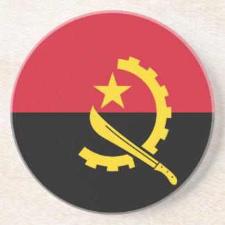 Porta-copos De Arenito Bandeira de Angola - Bandeira de Angola