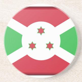 Porta-copos De Arenito Bandeira de Burundi