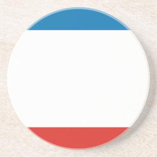 Porta-copos De Arenito Bandeira de Crimeia