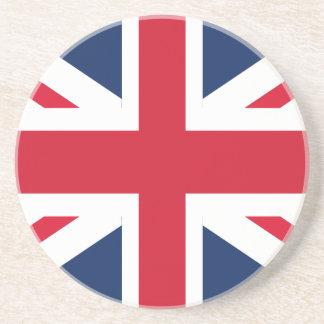 Porta-copos De Arenito Bandeira de Inglaterra