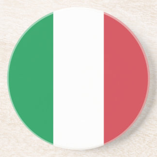 Porta-copos De Arenito Bandeira italiana patriótica