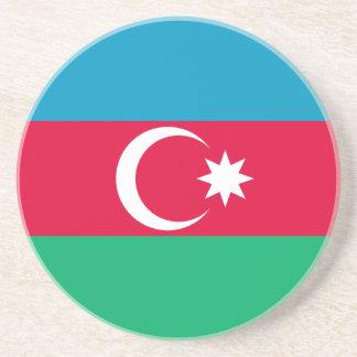 Porta-copos De Arenito Bandeira patriótica de Azerbaijan