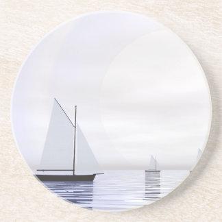 Porta-copos De Arenito Barcos de navigação - 3D rendem