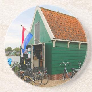 Porta-copos De Arenito Bicicletas, vila holandesa do moinho de vento,