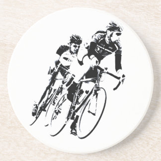 Porta-copos De Arenito Bicycle pilotos na volta