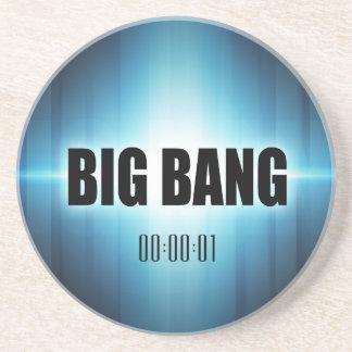 Porta-copos De Arenito Big Bang