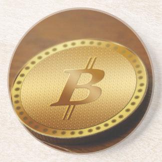 Porta-copos De Arenito Bitcoin 2