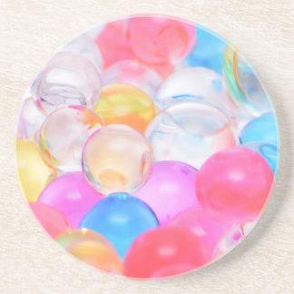 Porta-copos De Arenito bolas transparentes