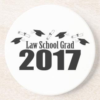Porta-copos De Arenito Bonés do formando 2017 da escola de direito e