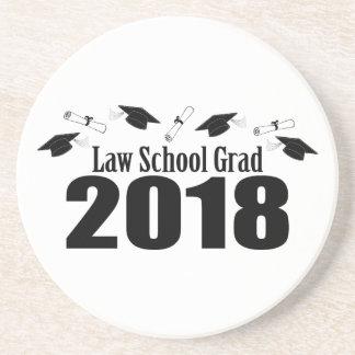 Porta-copos De Arenito Bonés do formando 2018 da escola de direito e