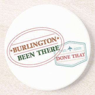 Porta-copos De Arenito Burlington feito lá isso