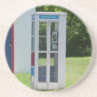 Porta-copos De Arenito Cabine de telefone
