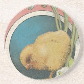 Porta-copos De Arenito Cartão do ovo da páscoa