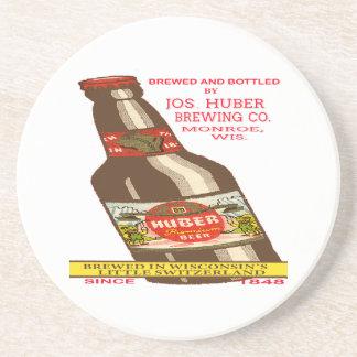 Porta-copos De Arenito Cerveja de Huber
